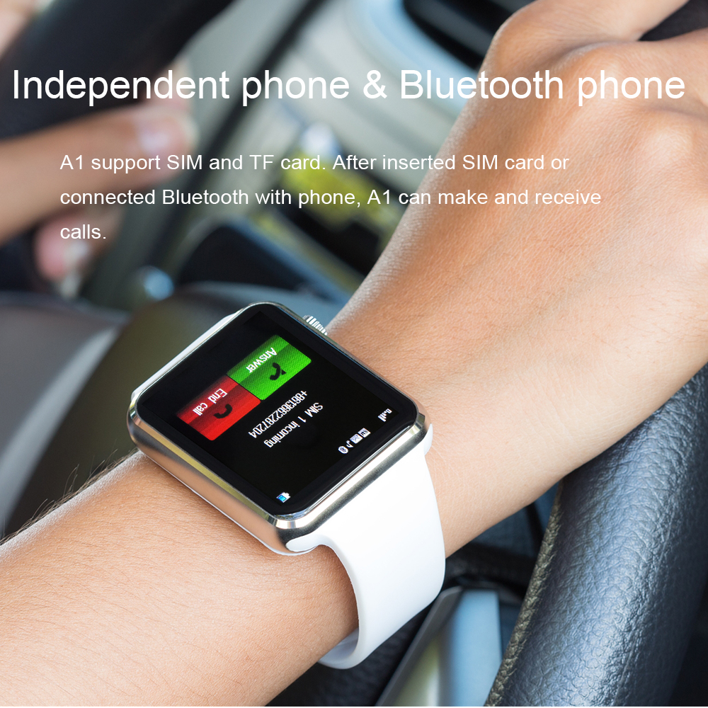 Image 4 - A1 Smart Watch Men For Android Phone Apple Watch Support 2G Sim TF Card 0.3MP Camera Bluetooth Smartwatch Women Kids-in Smart Watches from Consumer Electronics