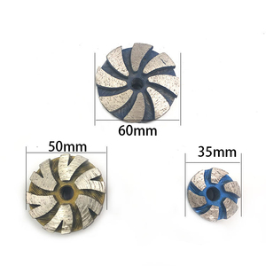 Image 2 - 35mm 50mm 60mm M10 Diamond Grinding Wheel Disc Bowl Shape Cup Concrete Granite Stone Ceramics Tools
