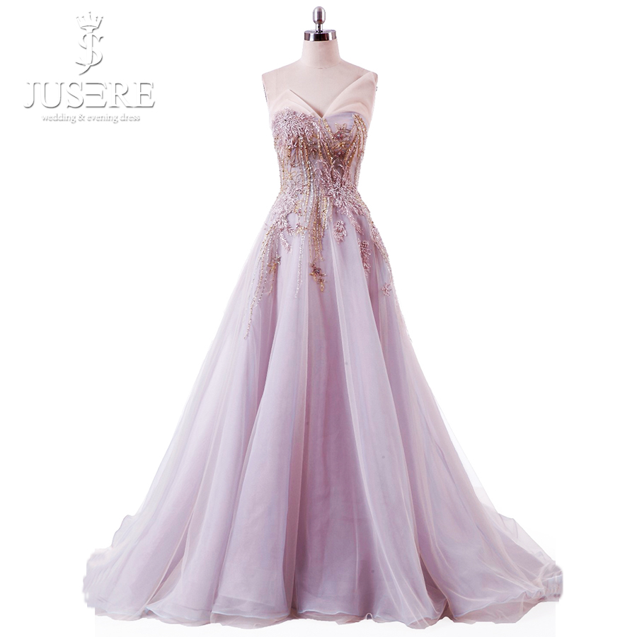 Beading Bodice Tulle Young Girl Lace Up Back Adjustable Evening Colorful Lady New Sweehteart A Line Purple Pink Prom Dress 2018