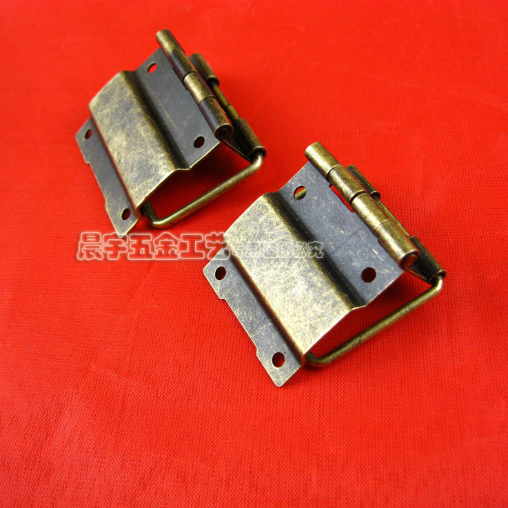 214017MM 50pcs antique brass wooden jewelry box hinges small box