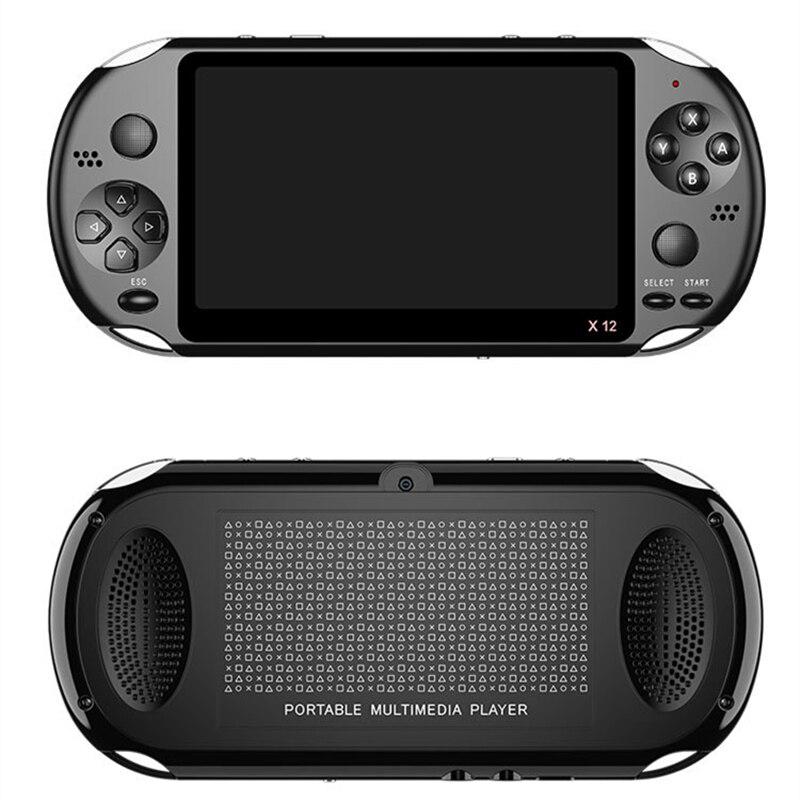 Lo más nuevo de 5,1 pulgadas portátil consola de juegos doble Joystick 8GB precargado 1000 juegos gratis soporte TV Out máquina de videojuegos - 2