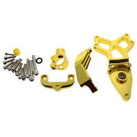 Motorcycle Steering Stabilizer Damper CNC Aluminum Adjustable Mounting Bracket Support Kit For HONDA CBR1000 2008 2014