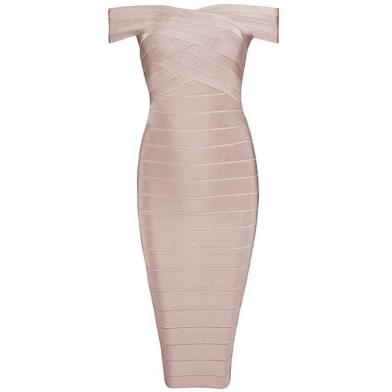 INDRESSME Сексуальное Женское Бандажное платье элегантное платье до колена с вырезом лодочкой, облегающее вечернее платье с открытой спиной vestidos 2019 Новинка