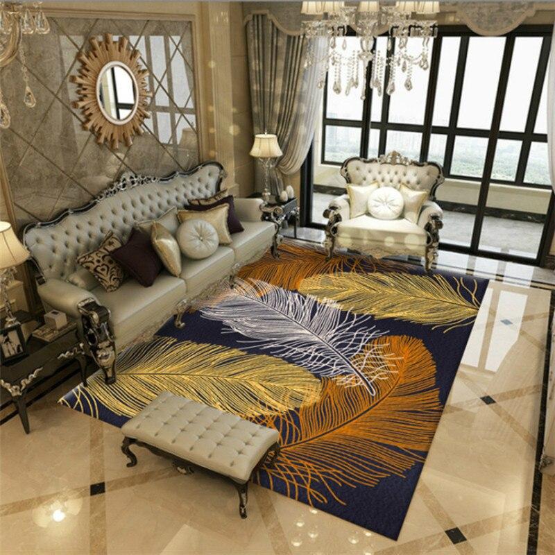 nordic feder teppich fur wohnzimmer schlafzimmer nacht decke fussmatte outdoor gebet parlor home boden matte anti slip teppiche tapete