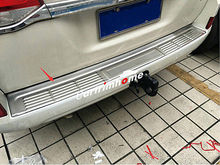 цена на Outer Rear Bumper Guard Plate Cover Trim 1pcs for Toyota Land Cruiser LC200 2016