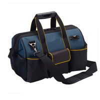 Shoulder Tool Kit Bag Hardware Electrician Hand Tool Bag Big Capacity Tool Storage Bag Messenger Toolkit Bag 12/14/16/18/20inch