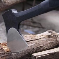 High Carbon Steel Woodworking Axe Outdoor Survival Hatchet Camping Hand Tools Anti slip Design Travel Tool