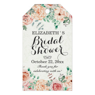 2x35inch elegant watercolor floral wedding bridal shower gift tags in cards invitations from home garden on aliexpresscom alibaba group