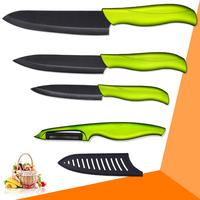Ceramic Knife 4 Inch Utility 5 Inch Slicing 6 Inch Chef Knife One Sharp Peeler Four