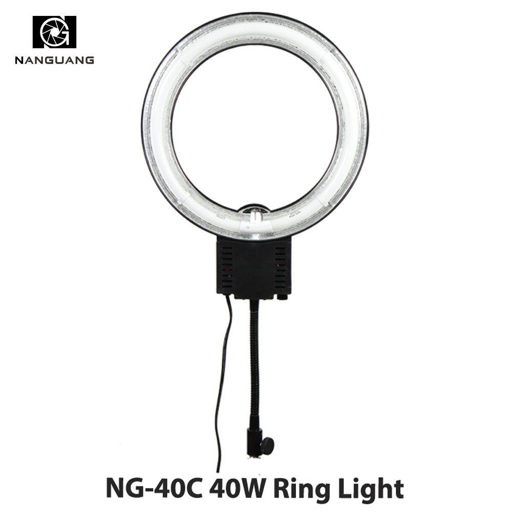 40W Daylight 5600k Fluorescent Ring Lamps Light For Video Photo Selfie Makeup Lighting Photo Ring Light Photographic Lighting