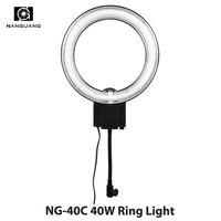 40W Daylight 5600k Fluorescent Ring Lamps Light For Video Photo Selfie Makeup Lighting Photo Ring Light Photographic Lighting