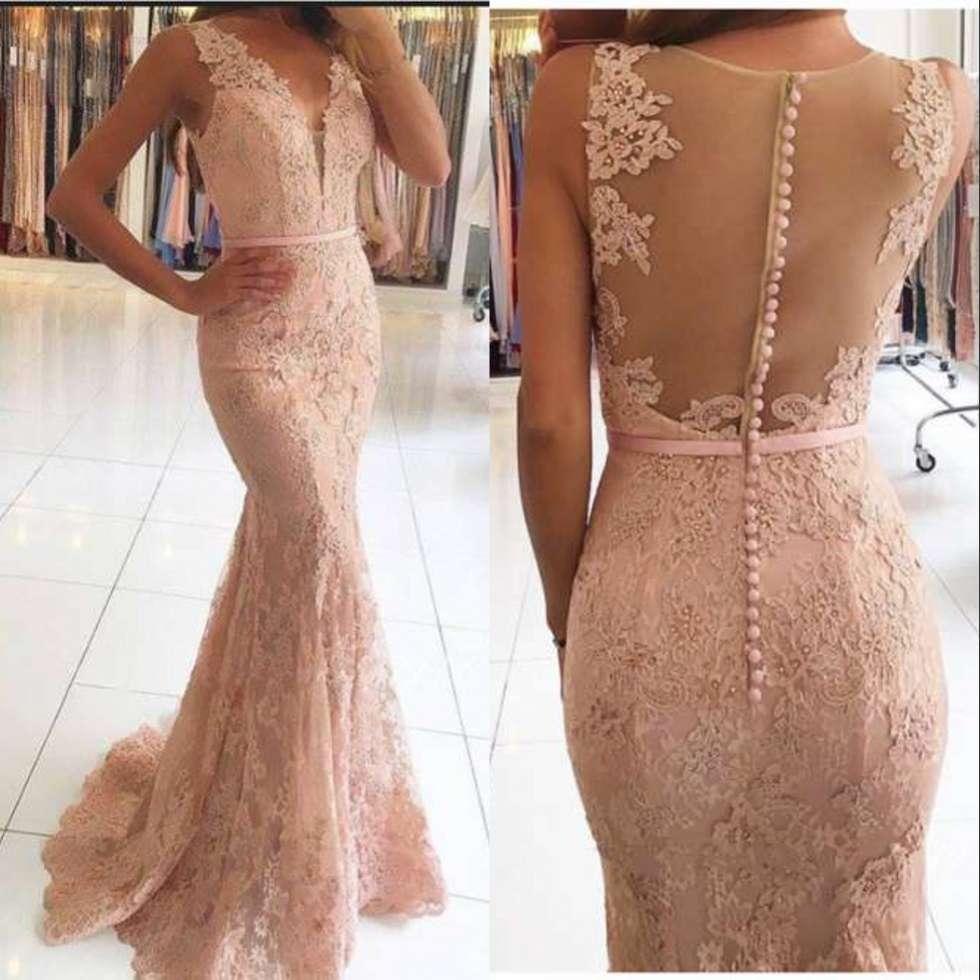 Elegant Long Mermaid   Evening     Dresses   For Wedding Tulle Appliques New Women Formal Party Gowns Vestido De Festa