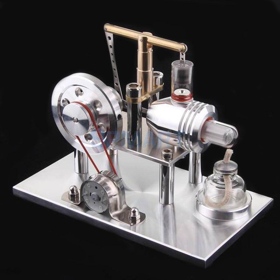 Surwish Équilibre Stirling Générateur Moteur Cylindre Générateur Éducation Modèle DIY Vapeur TIGE Jouet