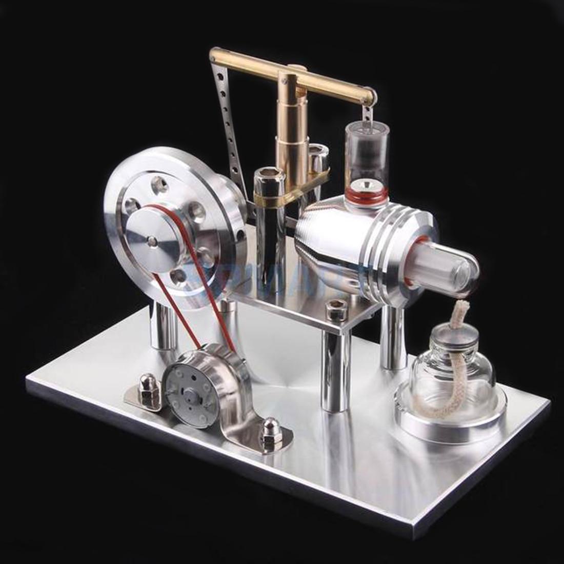 Surwish Balance Stirling générateur moteur cylindre générateur éducation modèle bricolage tige de vapeur jouet