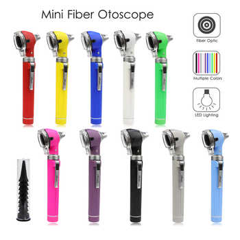 Mini LED ไฟเบอร์ออปติกแบบพกพาทางการแพทย์ Otoscopio สำหรับ Ear Care Diagnostic โดยตรงเส้นใย Otoscope - DISCOUNT ITEM  33% OFF ความงามและสุขภาพ