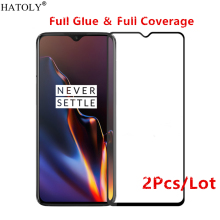 2Pcs Oneplus 7 Glass Tempered for Film 9H HD Full Glue Cover Hard Screen Protector