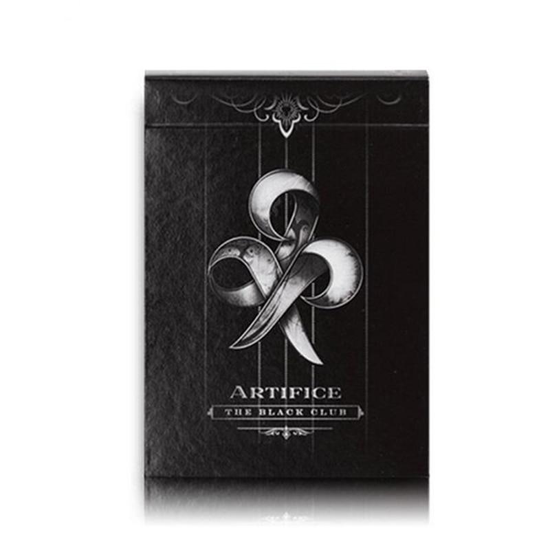 1 pièces Original Artifice pont noir cartes à jouer accessoires magiques jouets magiques tours de magie Cardistry Deck