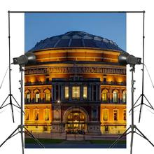 лучшая цена 150x220cm Royal Albert Hall Photography Background London Architecture Backdrop Night Viem Theme Studio Background
