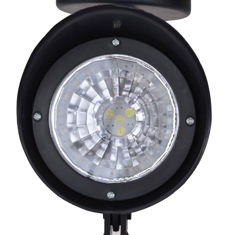 8pcs/set 4 led Solar Power LED Landscape Light Spotlight Outdoor Garden Lawn Yard Path Solar Spot Light Lamp Auto Sensor ON/OFF