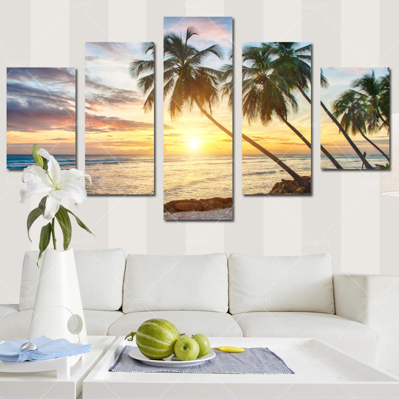 Online Get Cheap Tropical Wall Decor Aliexpress Com