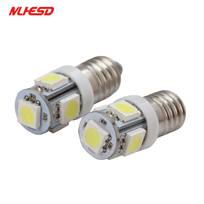 Car Lights Good Gz-ebright 300pcs E10 F10 1 Smd Led Bulbs Auto Reverse Clearance Lights Replacement Bulbs 12v 40lm 8000k White Blue Automobiles & Motorcycles