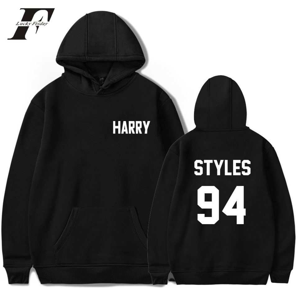 LUCKYFRIDAYF One Direction Harry Styles Harajuku Hoodies Women Sweatshirt Autumn Streetwear Cap Hoodies Kpop Hoodies Fans Cloth