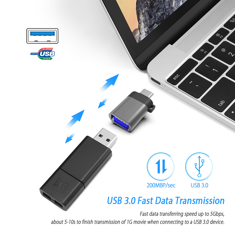 Thbelieve USB A To USB C Adapter KeboardMouseComputer Converter Type C To USB 3.0 Adapters USBC OTG Adaptator USB Tipo C (9)