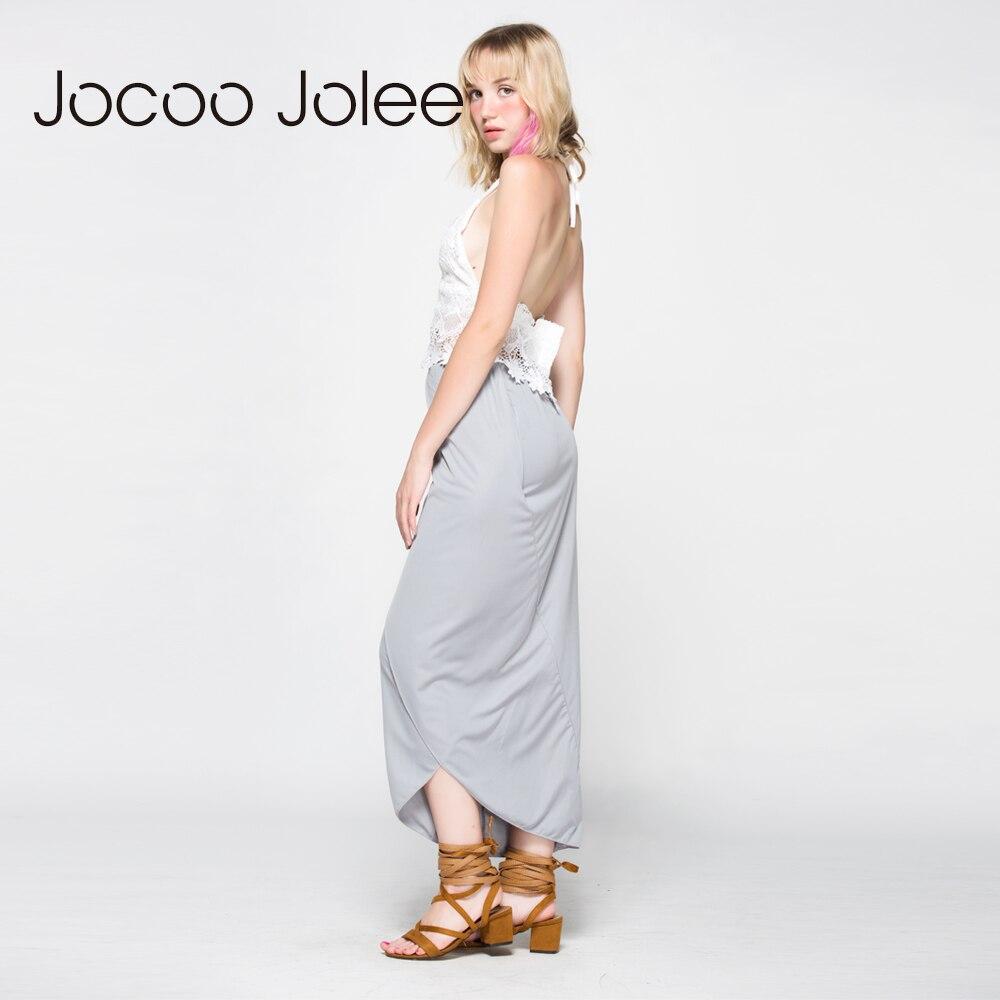 Jocoo Jolee ženske obleke s čipkastim telovnikom 2 kompleta Poletna - Ženska oblačila - Fotografija 5