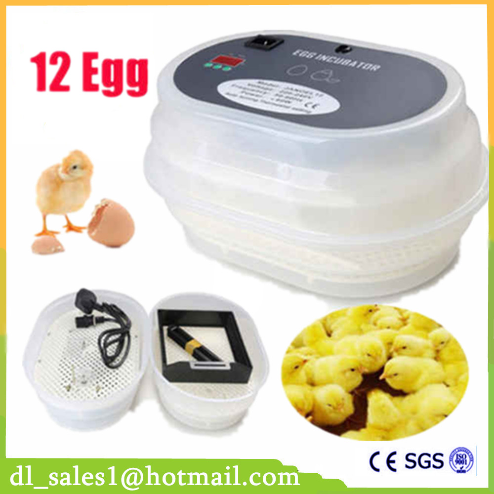 ⑧Home used display temperature automatic egg incubator for chicken ...