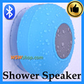 Waterproof Bluetooth Speaker Wireless Bathroom Shower Speaker Handsfree Portable Stereo Music Sound Speaker With Mic Blue Color