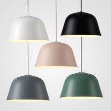 Nordic Iluminación Luces Pendientes Modernas lamparas colgantes Fixtures Inicio Muuto Lámparas moderni lampadari una sospensione Hanglamp