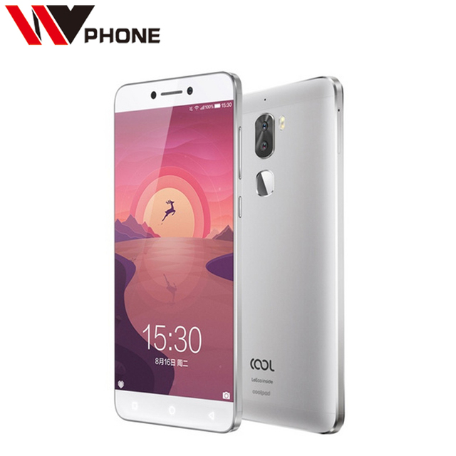 "Original Leeco cool1 4G RAM 32G ROM Letv Cool 1 4G LTE Mobile Phone Android 6.0 5.5"" FHD Dual Rear Camera Fingerprint ID"