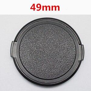 Image 1 - En gros 30 pcs/lot 49mm caméra objectif capuchon Protection couvercle lentille avant pour Canon Nikon Sony 49mm DSLR objectif