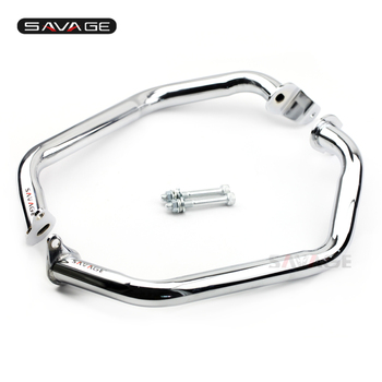 Chrome Engine & Frame Ccrash Bar For SUZUKI Boulevard M109R 2006-2017 Motorcycle Accessories Extension Engine Protection