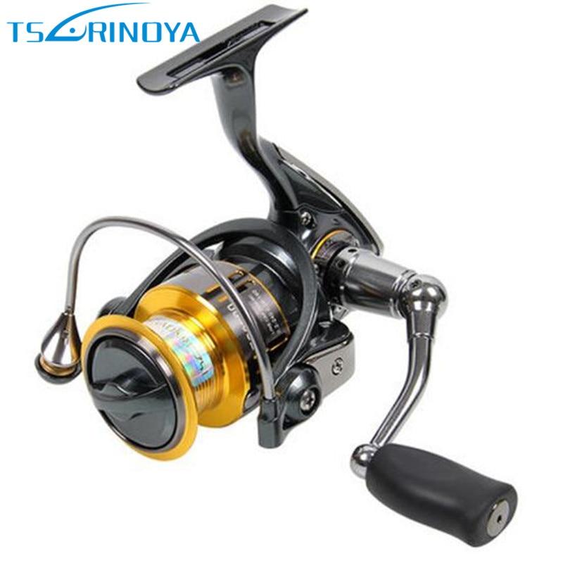 TSURINOYA FS800 FS1000 Spining Reel 9+1BB 5.2:1 Metal Spool Aluminium Moulinet Peche Fishing Reels Carretilha Pesca Feeder Coil все цены