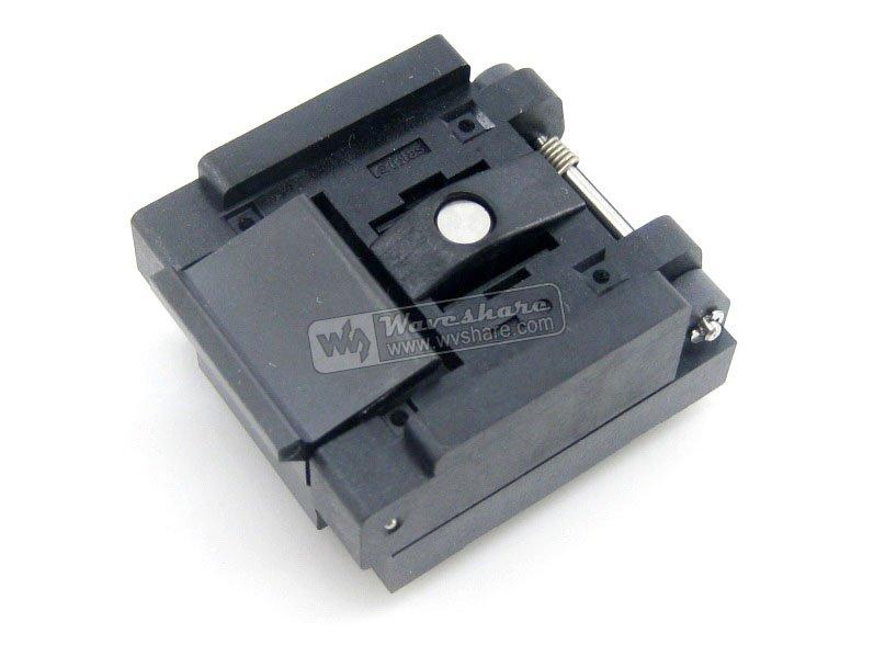 ФОТО Modules QFN16 MLP16 MLF16 QFN-16(24)B-0.5-02 QFN Enplas IC Test Burn-In Socket Programming Adapter 3x3mm 0.5mm Pitch