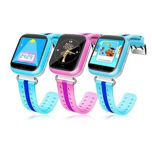 Image 5 - 2019 chaud GW200S Q100 Kid montre intelligente GPS Wifi positionnement SOS Tracker bébé moniteur de sécurité Smartwatch pk Q90 Q50 Q528 Q750 montres