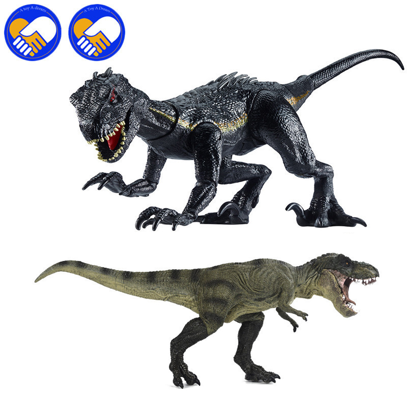 39cm Jurassic Dinosaurs World Indoraptor Active Dinosaurs Toy Classic Lifelike Model Toys For Boy Animal Action Figures Toys