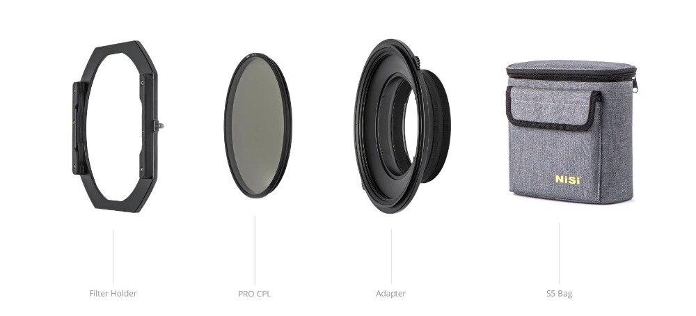 NiSi S5 набор 150 мм держатель фильтра с CPL для Nikon 14 24 мм f/2,8 объектив камеры