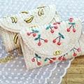 2017 Women Summer Bags Handmade Shoulder Bags Rattan Grass Weave Beach Bags Crossbody Bags Girls Small Cute Handbags