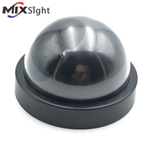 zk38 indoor/outdoor Surveillance Dummy CCTV Security Camera Simulated video Surveillance Ir Led Wireless Fake dome camera home