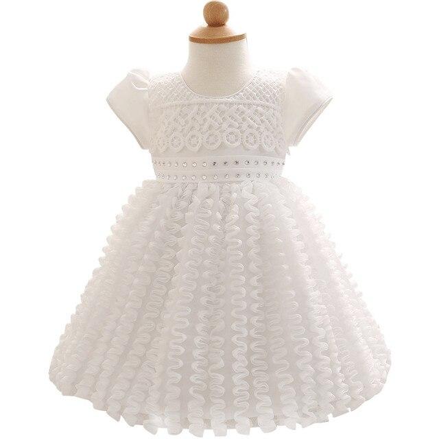 cc984e713 € 12.55  2017 niño niña ropa del bebé marca 1 año vestido ceremonias  partido niños Vestidos para Niñas boda bautizo en Vestidos de Mamá y ...