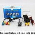 Для Mercedes-Benz SLK Class R171 2004 ~ 2011/HD CCD Ночь видение Камера Заднего вида/Проводной Или Беспроводной Резервное Копирование Обратный камера