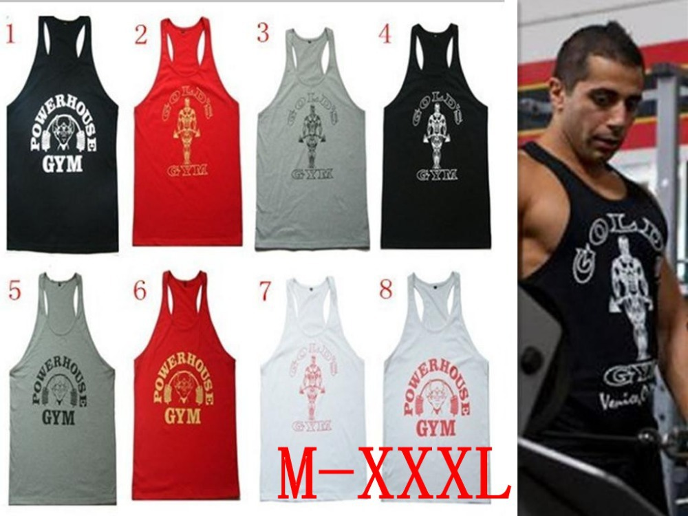 c11cf3da63bf71 Men s Gold fitness vest