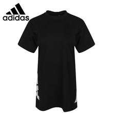 Оригинальное новое поступление, женские футболки с коротким рукавом, спортивная одежда, Адидас W S2S TEE3