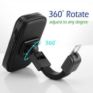 Image 3 - Uchwyt na telefon motocyklowy do Samsung Galaxy S8 S9 S10 do telefonu iPhone X 8Plus uchwyt na telefon komórkowy stojak wodoodporny do torby Moto