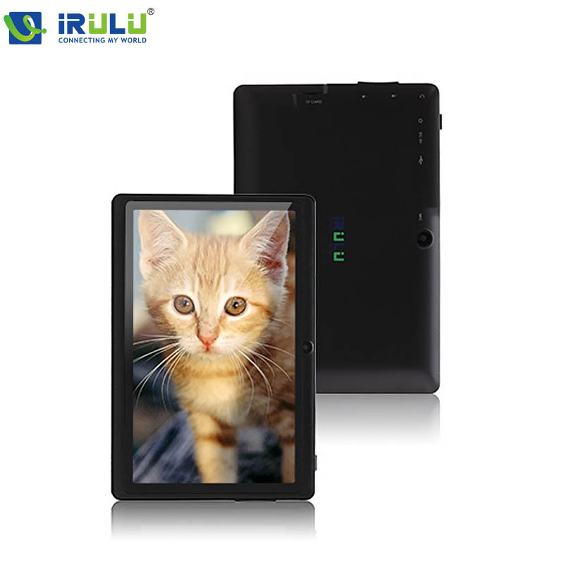 iRULU eXpro X1 7 Tablet 1024 600 HD A33 Quad Core 512MB RAM 16GB ROM Android4