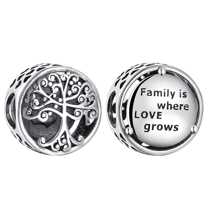 New Authentic Pandora Family Is Where Love Grows Charm Sterling Silver S925 Ale Ebay