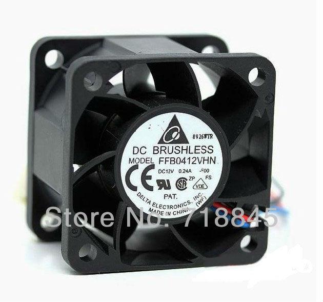 Delta 4 cm 4cm1U servidores double-ball bearing fan 4028 12 V 0.24A FFB0412VHN