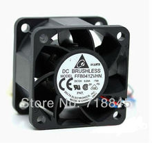Delta 4 cm 4cm1U servers double ball-bearing fan 4028 FFB0412VHN 12V 0.24A